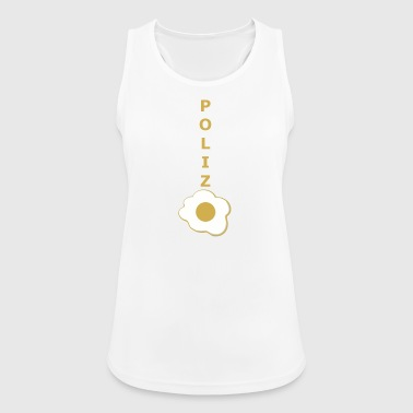police - Women's Breathable Tank Top