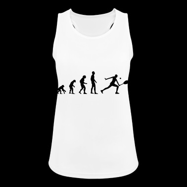 Tennis Tennis Player Evolution Gift - Women's Breathable Tank Top