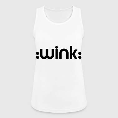 :wink: - smiley - Frauen Tank Top atmungsaktiv