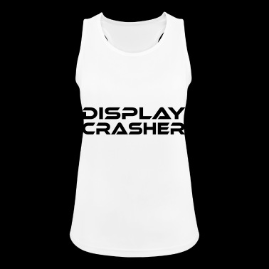 DISPLAY CRASHER - Pustende singlet for kvinner