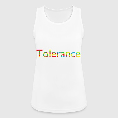 Tolerance, Peace and Love - Women's Breathable Tank Top
