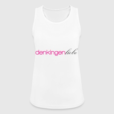Thinking total love pink - Women's Breathable Tank Top