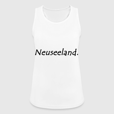 New Zealand. - Women's Breathable Tank Top
