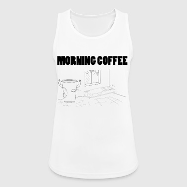 Morning Coffee - Women's Breathable Tank Top