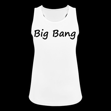 big bang - Pustende singlet for kvinner