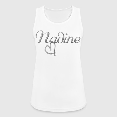 Nadine name first name name day - Women's Breathable Tank Top