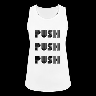 PUSH - Frauen Tank Top atmungsaktiv