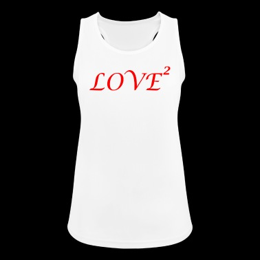 LOVE love Loved love romantic i love - Women's Breathable Tank Top