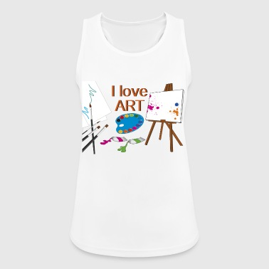 to paint - Women's Breathable Tank Top