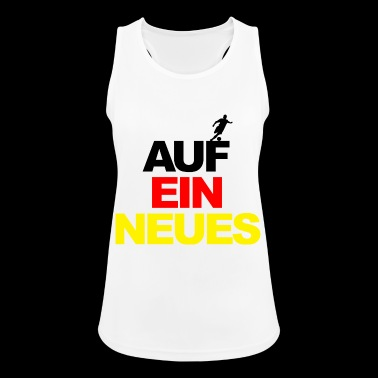 European Championship on a new world champion football Germany - Women's Breathable Tank Top
