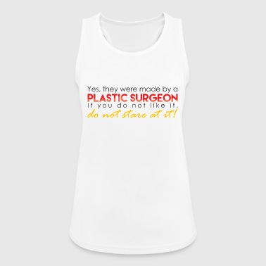 Funny Plastic Surgeon - Women's Breathable Tank Top