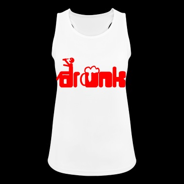 Drunk - Women's Breathable Tank Top