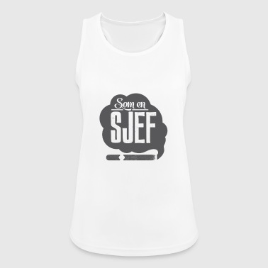 Som en sjef (Like a boss) - Pustende singlet for kvinner