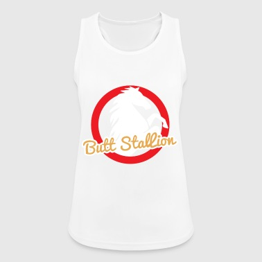 Horse / Farmhouse: Butt Stallion - Women's Breathable Tank Top