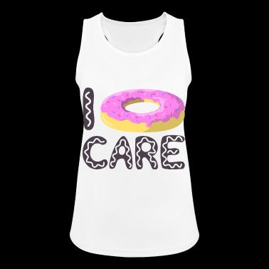 Donut Care - I do not care - Women's Breathable Tank Top