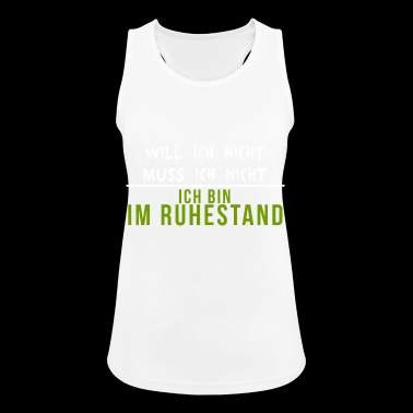 Pensioner retired pensioner Funny - Women's Breathable Tank Top