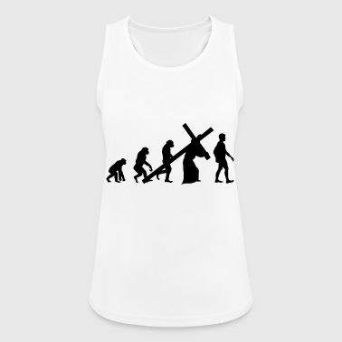 Evolution religion - Women's Breathable Tank Top