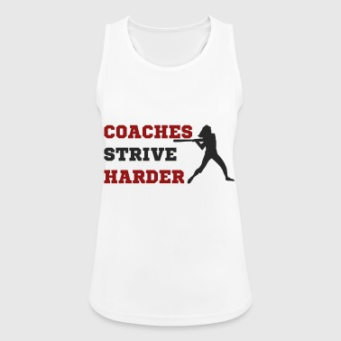 Coach / Coach: Coaches Strive Harder - Women's Breathable Tank Top