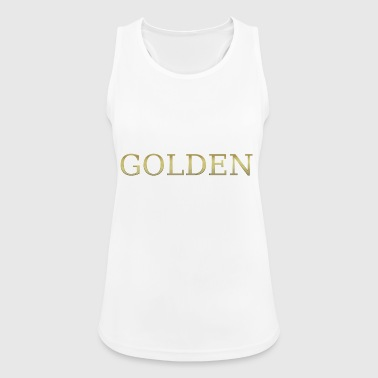 gold golden sweet gold gold gold heart - Women's Breathable Tank Top