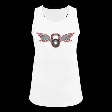 Kettlebell with wings - Women's Breathable Tank Top