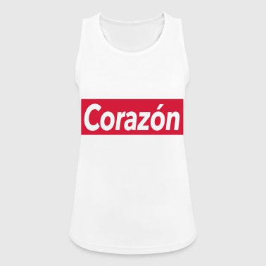Corazon - Pustende singlet for kvinner