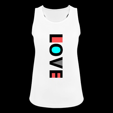 ✅ Black Love Design ✅ - Women's Breathable Tank Top