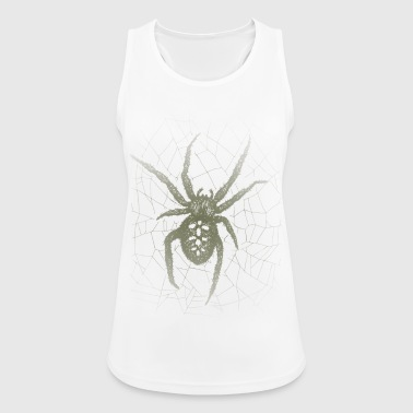 Cross spider in the spider web - Women's Breathable Tank Top