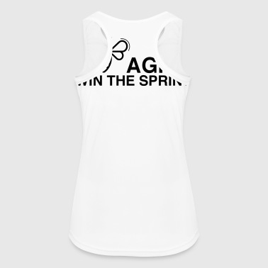 BE AGILE WIN THE SPRINT - Women's Breathable Tank Top