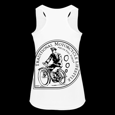 Traditional Motorcycle Lifestyle - Women's Breathable Tank Top