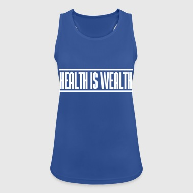 health is wealth - Women's Breathable Tank Top