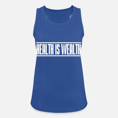 Wealth health is wealth - Women's Breathable Tank Top
