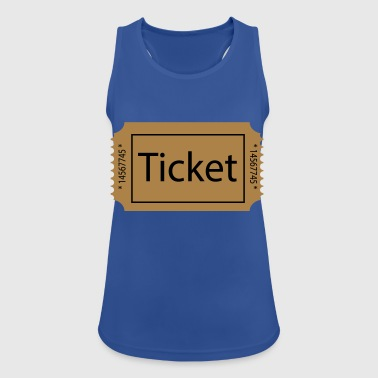 2541614 15474465 ticket - Women's Breathable Tank Top