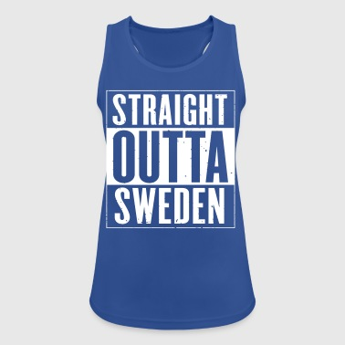 STRAIGHT OUTTA SWEDEN - Women's Breathable Tank Top