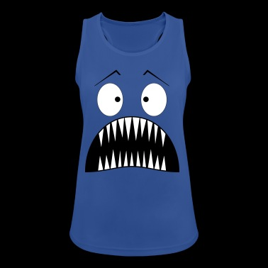 Monster surprised - Women's Breathable Tank Top