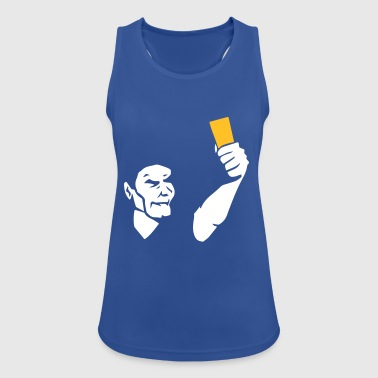 Referee shows card - Women's Breathable Tank Top