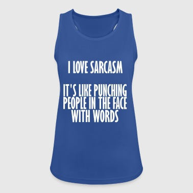 sarcasm - Women's Breathable Tank Top