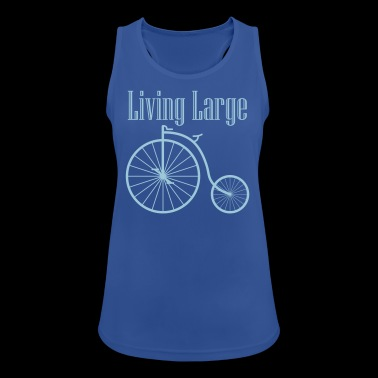 LIVING LARGE - Women's Breathable Tank Top