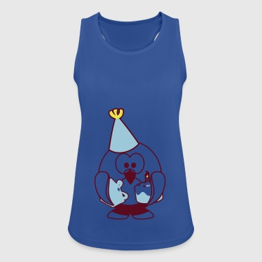 Linux celebration - Women's Breathable Tank Top