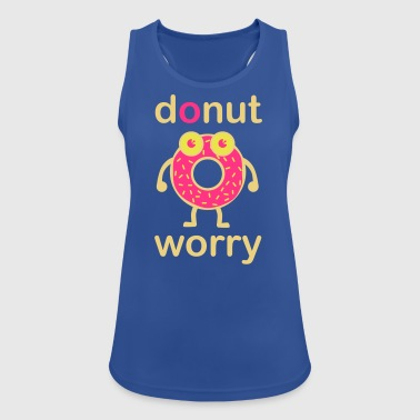 donut worry - Women's Breathable Tank Top