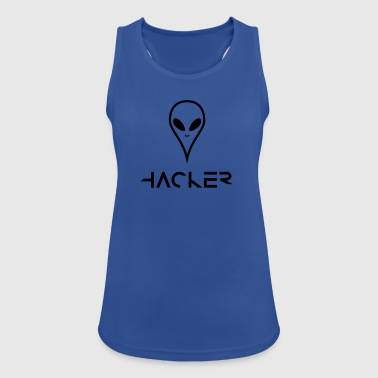 The alien hacker from the UFO - Women's Breathable Tank Top