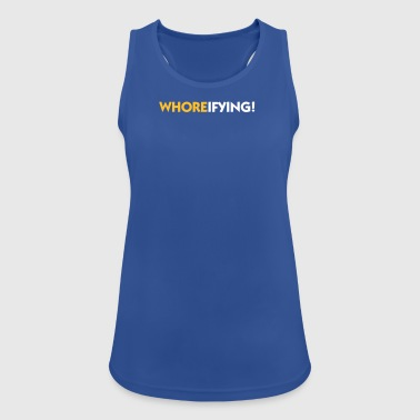 Terribly Slutty! - Women's Breathable Tank Top