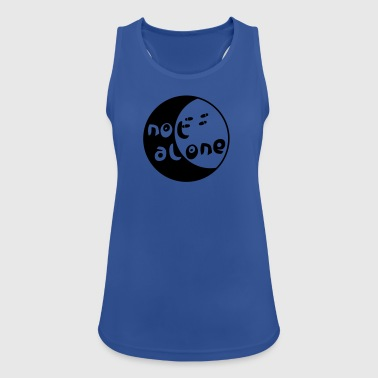 alone - Women's Breathable Tank Top