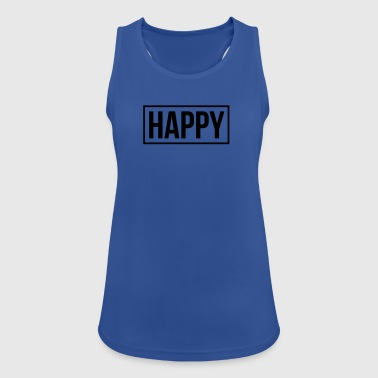 happy - Women's Breathable Tank Top