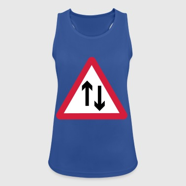 Beware of oncoming traffic - Women's Breathable Tank Top