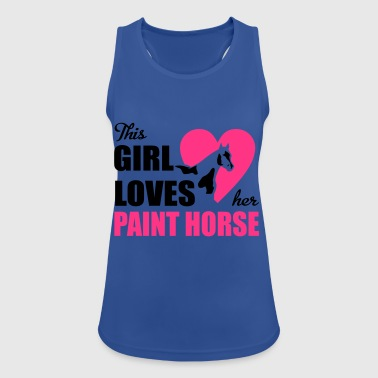 6254398 129692105 Paint Horse - Women's Breathable Tank Top