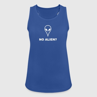 NO ALIEN? There are no aliens - Women's Breathable Tank Top