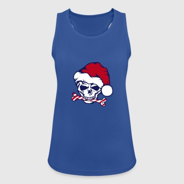 Santa Claus Skull - Women's Breathable Tank Top