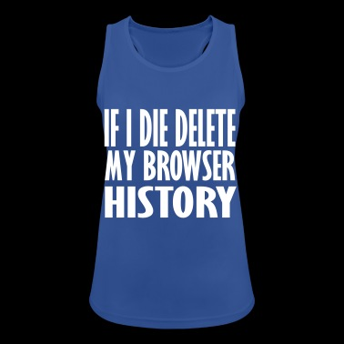 if i die - Women's Breathable Tank Top