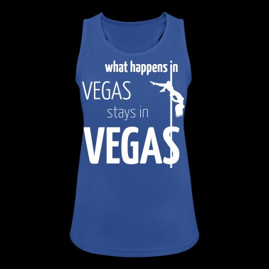 what happens in vegas ... - Women's Breathable Tank Top