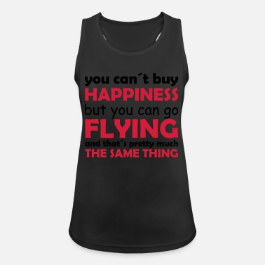 Pilot happiness flying - Women's Sport Tank Top